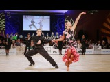 Konstantin Gorodilov - Dominika Bergmannova, EST   GoldstadtPokal 2018 - WDSF WO LAT - solo R
