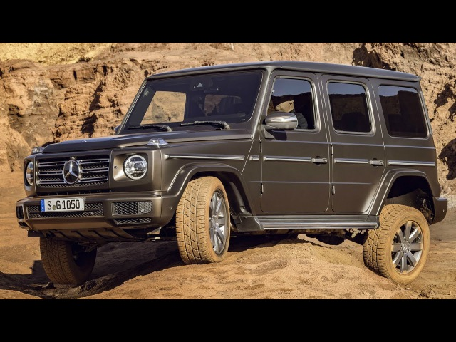 2019 Mercedes G-Class - Legend Reinvented for Today