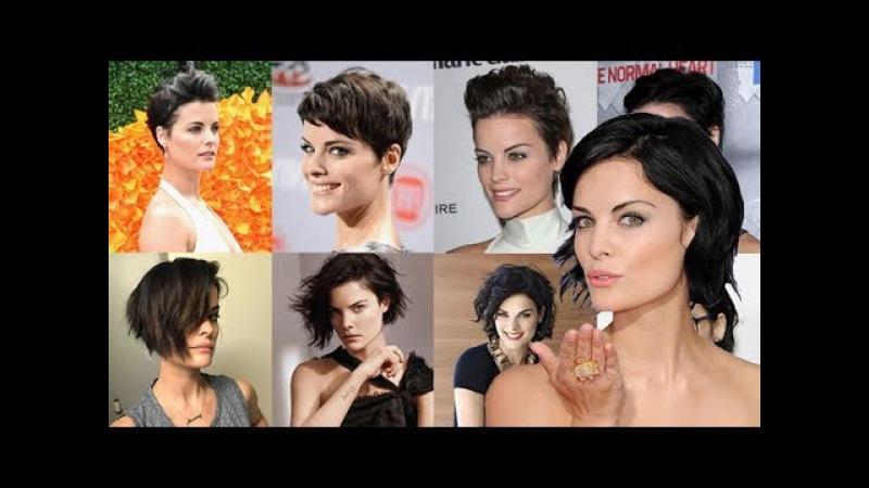 Pixie Haircuts Bob Hairstyles From Celebrities Jaimie Alexander Short Hair Style Ideas 2018