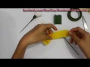 CÚC HỌA MI GIẤY NHÚN | Cách làm hoa CÚC bằng GIẤY NHÚN _ Made by Saphia