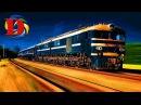 Поезда для детей и Железнодорожный транспорт развивающие мультики для детей пр