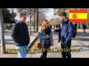 Cosa gli spagnoli pensano degli italiani Domande a Madrid -thepillow