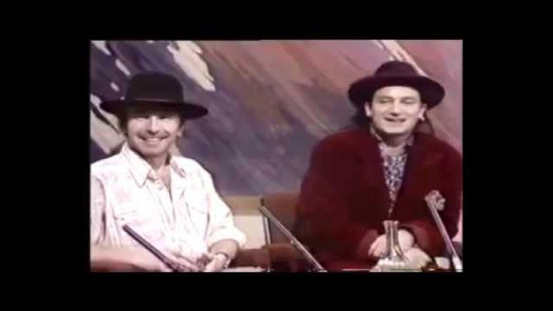 U2 - Late Late Show - RTE - 16th December 1988
