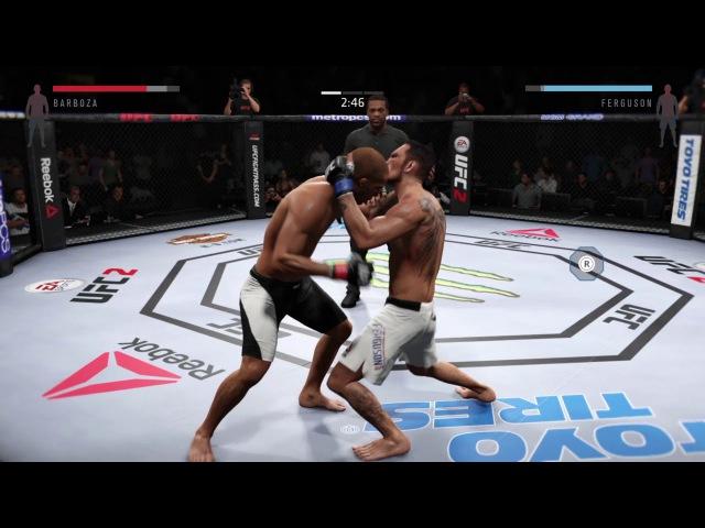 RFC 35 Lightweight bout Tony Ferguson (Kolyashashahter )vs Edson Barboza ( lvanIvanov303)