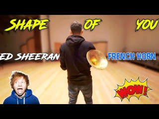 SHAPE OF YOU FRENCH HORN | ED SHEERAN | ВАЛТОРНА
