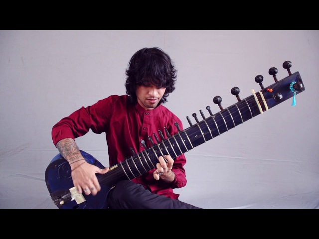 THE DILLINGER ESCAPE PLAN On The SITAR Rishabh Seen Covers When I Lost My Bet GEAR GODS