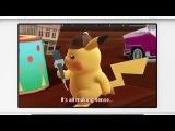 Detective Pikachu (3DS) Trailer + Amiibo - Nintendo Direct March 2018