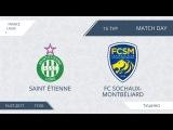 AFL17. France. Ligue 1. Day 15. Saint Etienne - Sochaux-Montbeliard