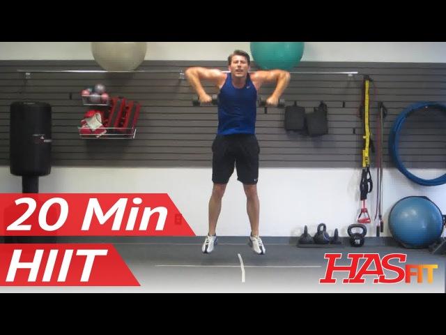 20-минутная тренировка ВИИТ Воин Часть 3 из 3. HASfit Warrior 20 Minute HIIT Workout Part 3 of 3   BEST Home Fitness Training Exercises