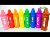 48 Сюрпризов  Учим цвета с Карандашами Сюрпризами  Детский Развивающий Канал