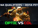 New OpTic ppd Team Debut vs CompLexity NA Finest DotaPIT Minor Dota 2