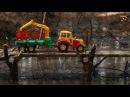 Мультик про машинки. Трактор, экскаватор и кран. Сборник Ферма Бэки. МанкитуМульт