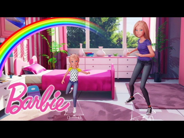 SKATEBOARDING ON RAINBOWS 🌈 IN DREAMTOPIA! | Barbie Vlog | Episode 49