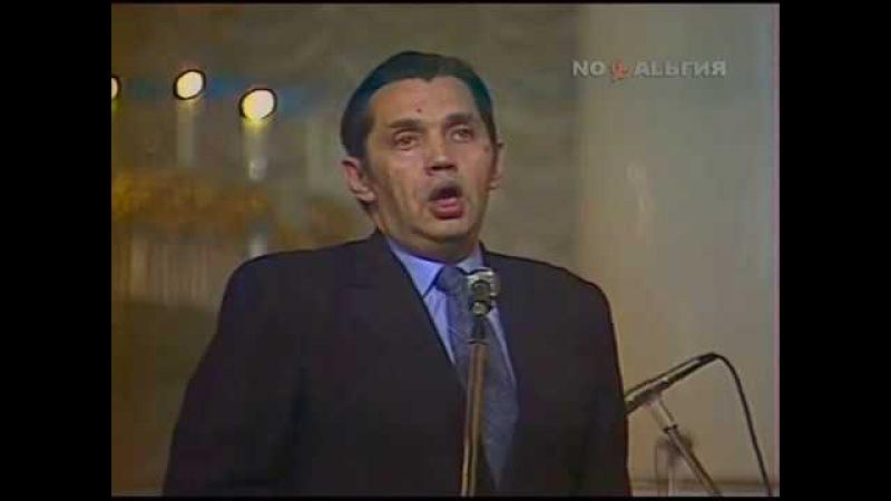 Творческий вечер Р.Рождественского в Колонном зале Дома Союзов