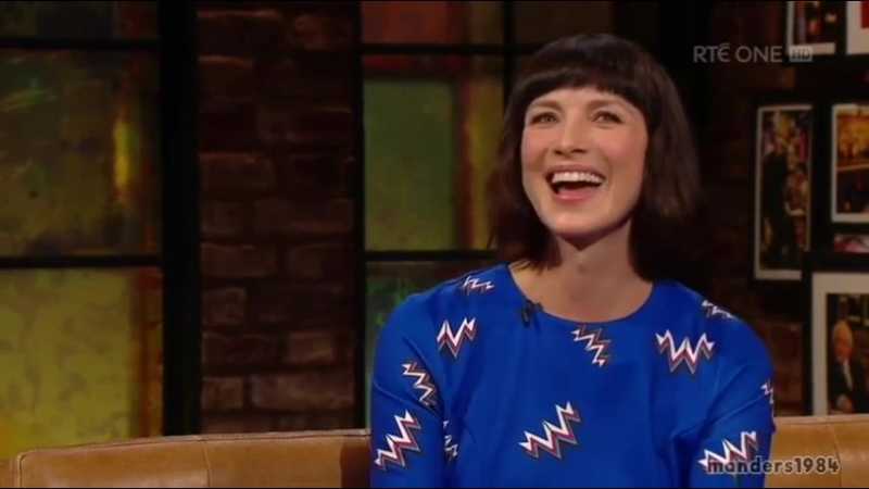 Caitriona Balfe The Late Late Show Full Interview [RUS SUB]