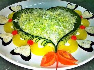 Рецепт вкусных и простых салатов
