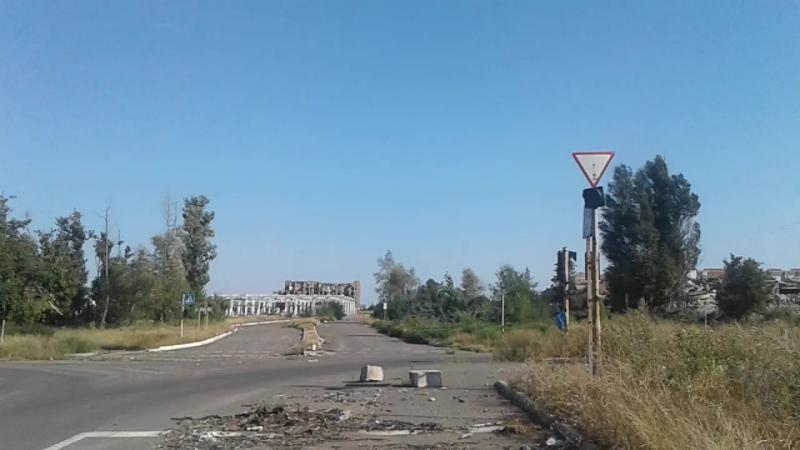 Донецк, ул. Стратонавтов - 18 августа 2017 года...