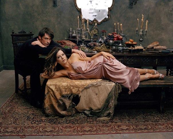 Кейт Бекинсейл и Хью Джекман в объективе Лоренцо Аджиуса, 2003