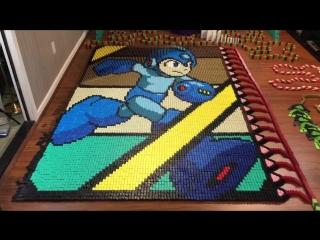 Mega man из 24922 домино