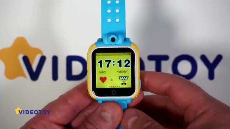 Детские GPS часы с камерой Smart Baby Watch Q75 GW1000 - видео обзор - GPS трекер для детей tracker
