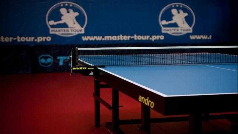 Master Tour TT Настольный теннис — live