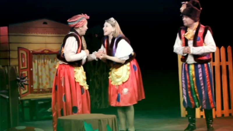 Спектакль Самозванец в Новоуральском театре кукол Сказ 08.06.2017