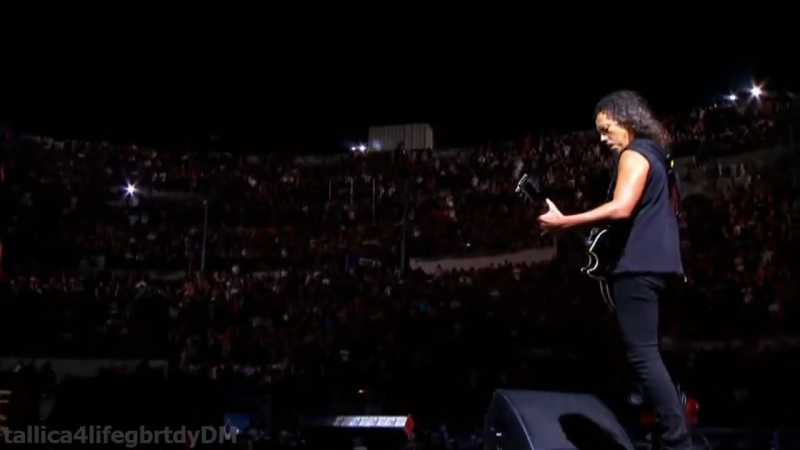 Metallica - Nothing Else Matters Live Nimes HD