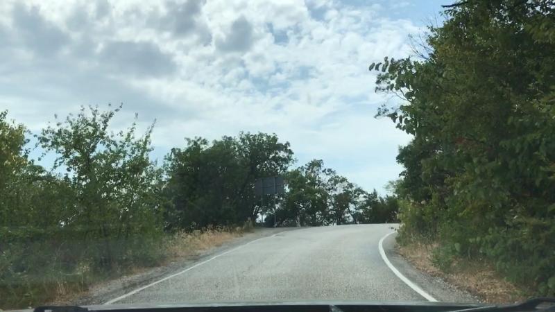 Дорога на Форосскую церковь