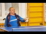 Мастер-класс по настольному теннису. г.Снежинск 24 ноября 2017г.