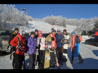 Абзаково-Банное 4-6 января 2018 с Атмосферой