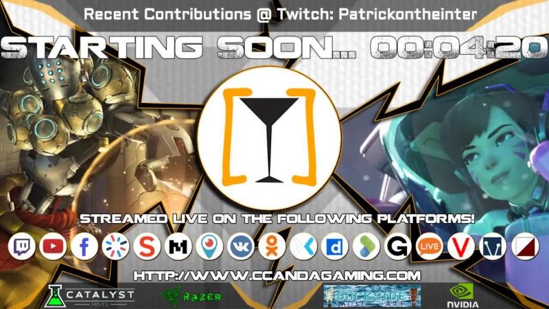 CCAA Gaming [Torradas] || Gold Zenyatta Overwatch Comp Games