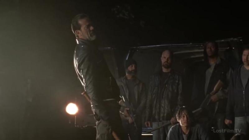 Джеффри Дин Морган Ходячие мертвецы 7 сезон 1 серия - Ниган совершает убийство