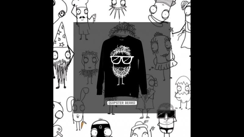 Z Beard Bl. Sweater