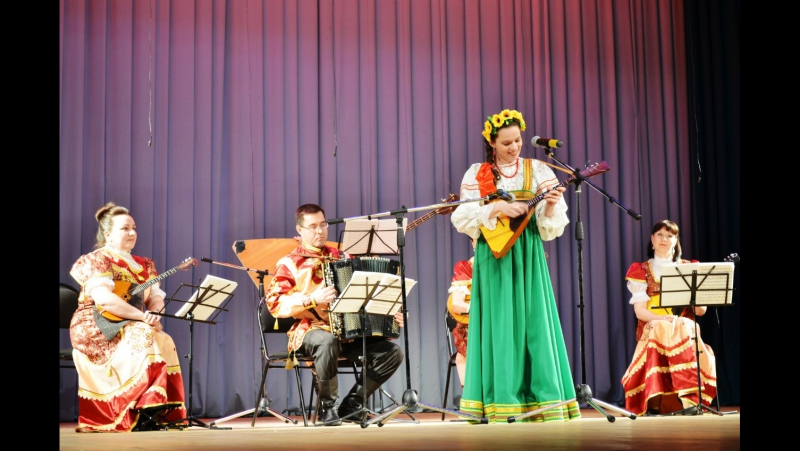 Ольга Лахнова - Ох, балалаечка-балалайка!