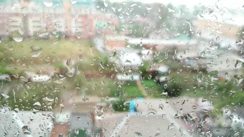 Сюрпризы погоды. Хочется кататься на велике рано утром , а идет дождь)rain drops дождьпривет осень природа небо облака