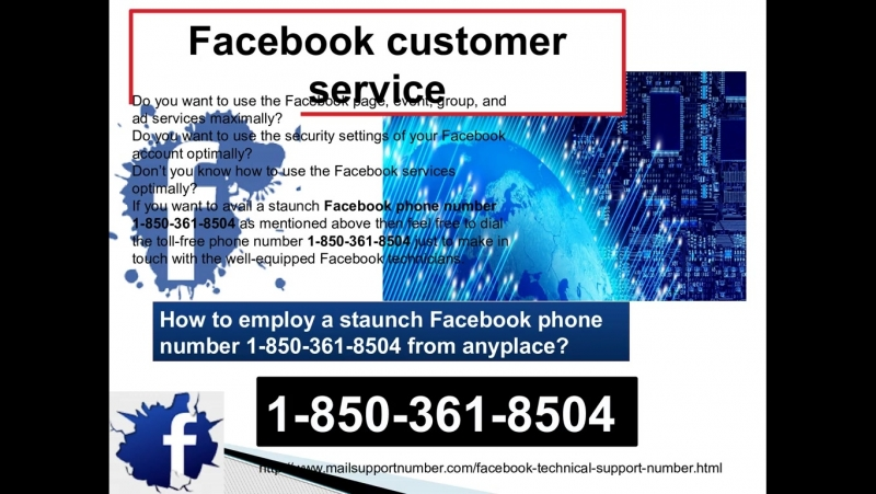 How is the Facebook Customer Service 1-850-361-8504 so reliable facility?