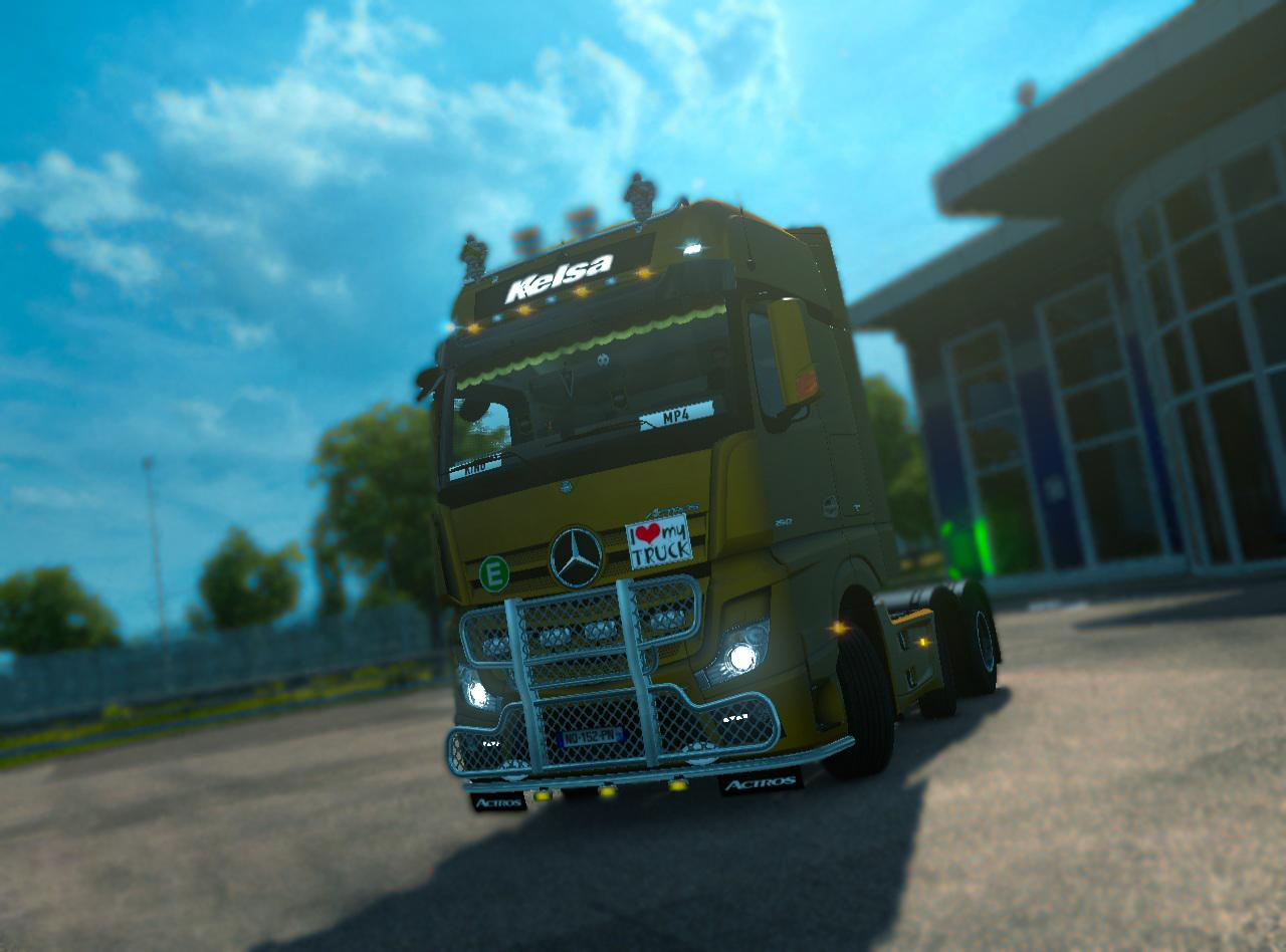 MERCEDES ACTROS TUNING V3.4
