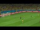 Полуфинал ЧМ 2014 Бразилия Германия 1 7 Гол Тони Крооса