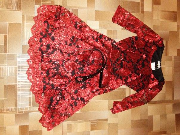 #Одежда@bankakomiПлатье нарядное красное, размер 42, новое, есть реме