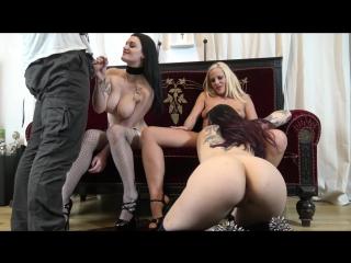 Alissa noir - perverses fotoshooting mit fickzugabei (1080p) [amateur, gothic girl, foursome, lesbians, pussy fuck, blowjob]