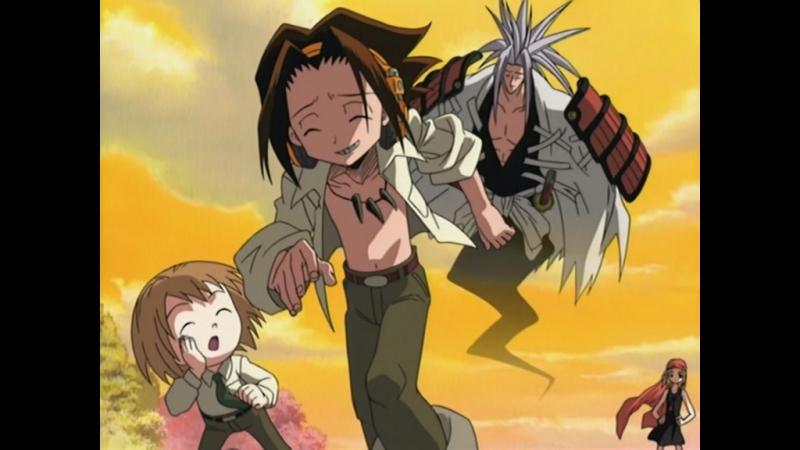 [AnimeOpend] Shaman King 1 ED   Ending / Шаман Кинг 1 Эндинг (720p HD)