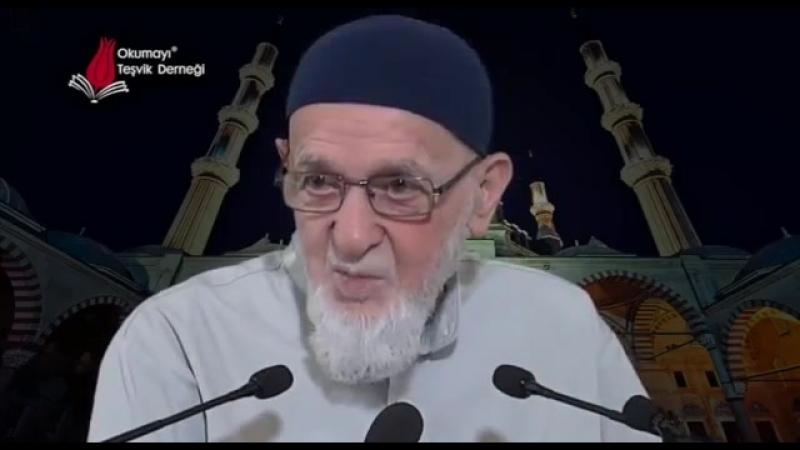 829 - Ramazan Ayının Faziletleri (Ahmet Tomor Hocaefendi)