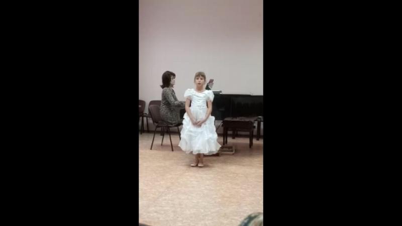 Алиса Чапаева выступление 2017