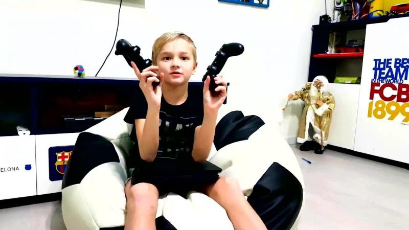 [Starshiy Brat TV] ⚽ КУПИЛ Sony Playstation 4 Slim. ОБЗОР PS4 ⚽ BOUGHT Sony Playstation 4 Slim. PS4 REVIEW