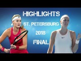 Petra KVITOVA vs Kristina MLADENOVIC (HIGHLIGHTS HD) ST. PETERSBURG 2018 FINAL