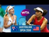 Daria GAVRILOVA vs Irina FALCONI Highlights WTA AUSTRALIAN OPEN 2018