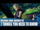 Dissidia Final Fantasy NT PS4 Gameplay - 7 Things You Need To Know
