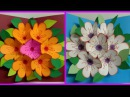 #diy Art and #crafts : #howto make pop up flower / surprise flower  bouquet card / father's day card