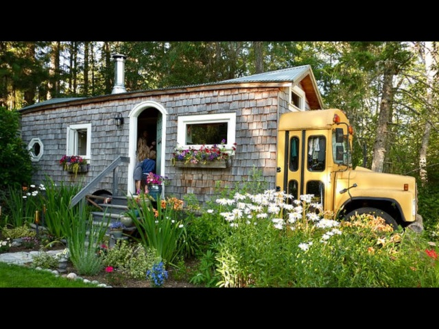 WA maker turns skoolie, short-bus container into family home
