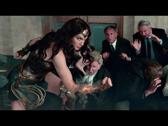 Глазам не верю, кто ты? Та кто верит! Чудо-женщина спасает заложников. Лига справедливости. 2017